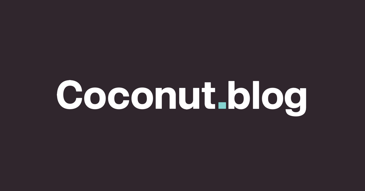 Coconut Blog