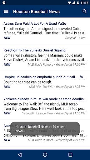 Houston Baseball News