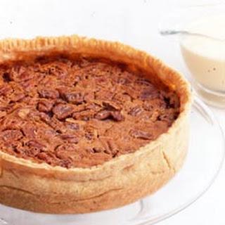 Pumpkin-Pecan Pie with Whiskey Butter Sauce