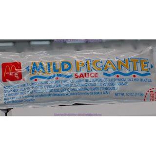 Mild Picante Sauce.