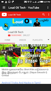 Download Top 10 YouTube Channels Tamil Tech Videos For PC Windows and Mac apk screenshot 14