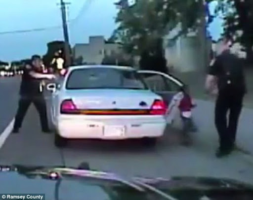 New graphic video records officer shooting Philando Castile