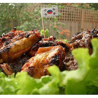 Korean Chicken Wings.
