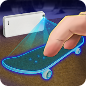 Fingerboard 3D Hologram Joke