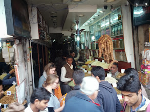 Photo: We stopped at a spice market in old Delhi and found Obama's doppelganger