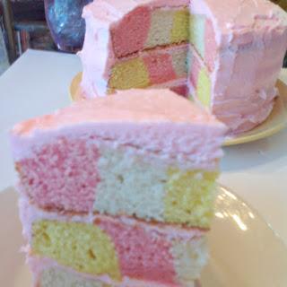 Pink Lemonade Picnic Cake