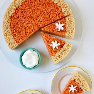 Pumpkin Pie Rice Krispies Treats.