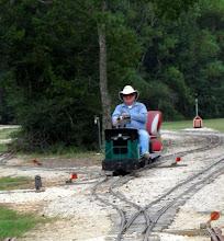 Photo: Bill Howe ran clockwise while we ran passenger trains counter clockwise.      HALS 2009-0919