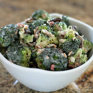 Broccoli Salad With Bacon.