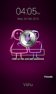 Voice Lock Screen screenshot 4