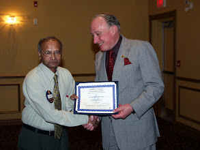 Photo: Kashyap Desai of Stantec received a TEGA Award
