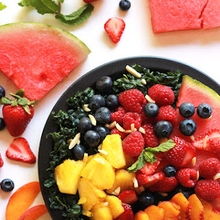 Fruity Kale Salad