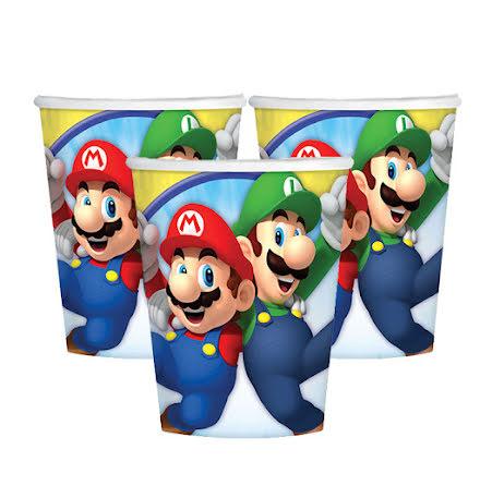 Muggar, Super Mario 8 st