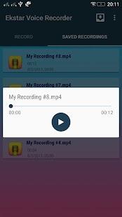 Ekstar Voice Recorder - náhled