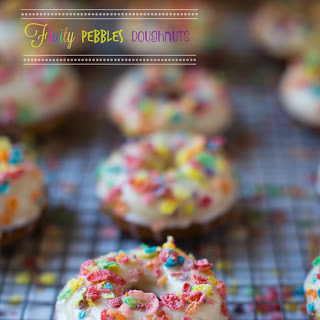 Fruity Pebbles Donuts.
