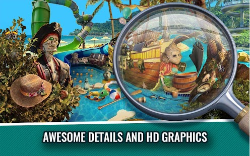 Hidden Objects Water Park Adventure Game