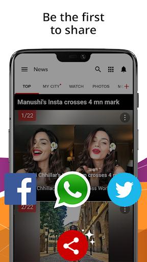 India News,Latest News App,Top Live News Headlines 4.4.0.2 screenshots 8