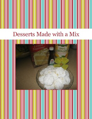 Desserts Made with a Mix