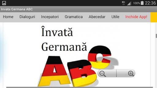 Download Invata Germana ABC app 18.7 2