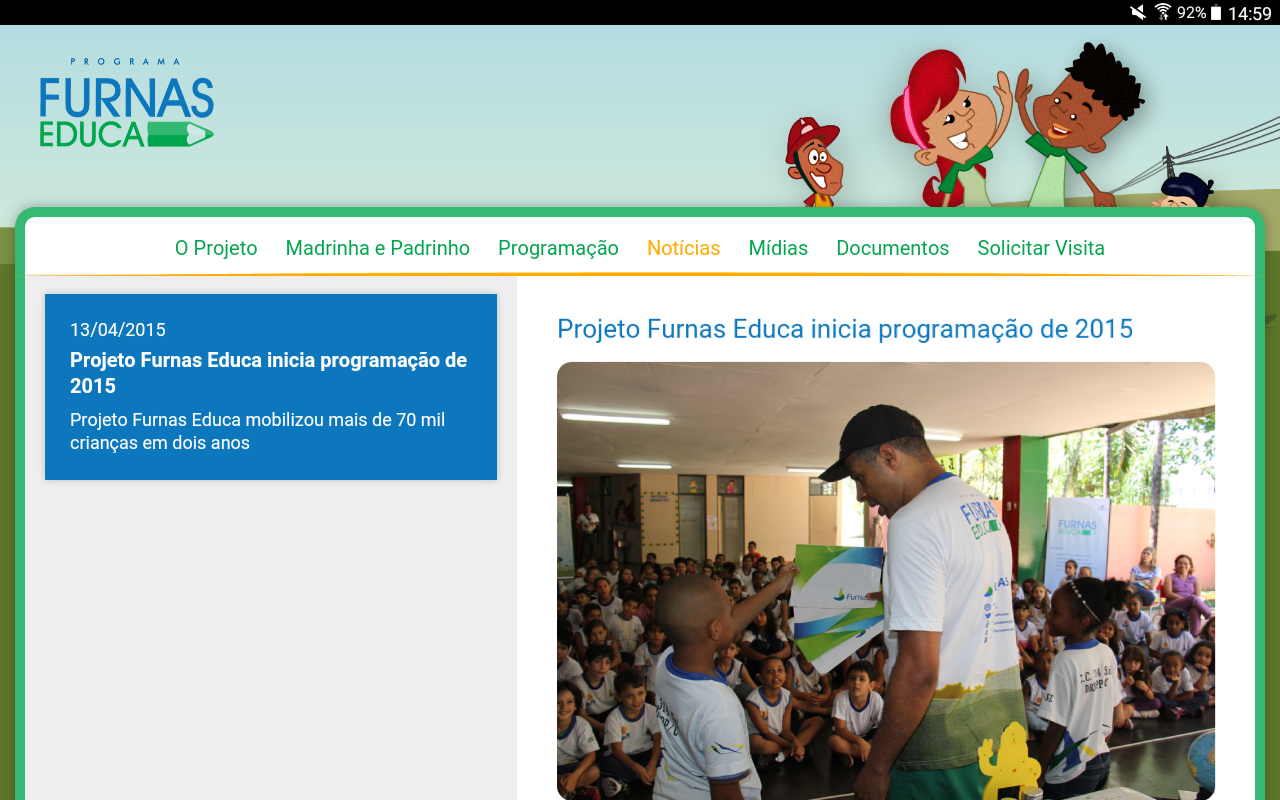 Furnas Educa- screenshot
