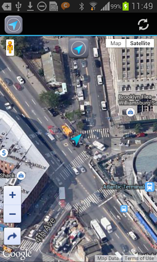 GPS Locator - マップ