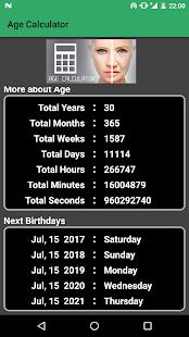 Age Calculator screenshot