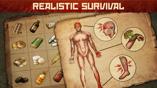 Day R Survival Apocalypse. Lone Survivor Games Screenshot