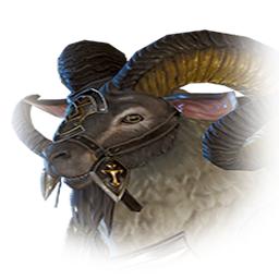 鋼鉄鎧の山羊