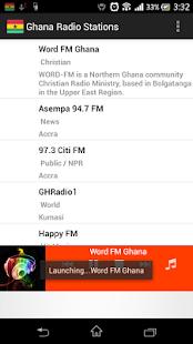 Ghana Radio Stations - náhled