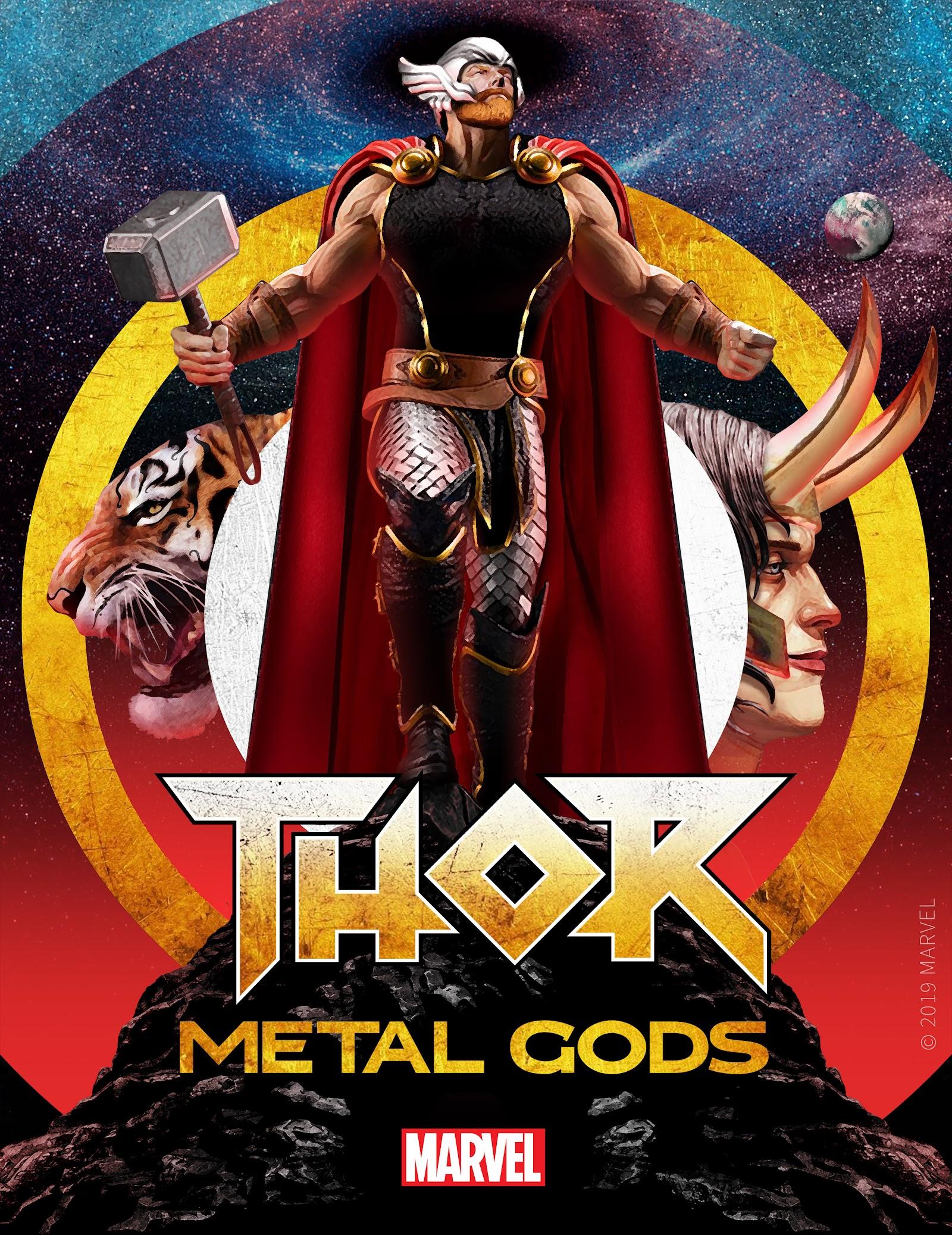 thor metal gods