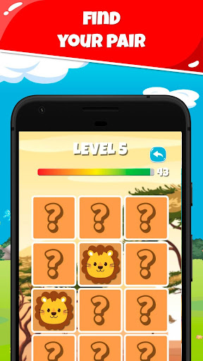 MemoKids: Toddler games free. Memotest, adhd games screenshot 4