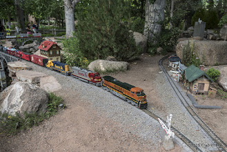 Photo: ...and the trains really like the new ballast...no leaning!