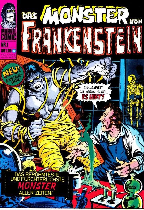 Das Monster von Frankenstein (1974) - komplett
