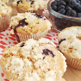 Blueberry Brown Butter Lemon Muffins