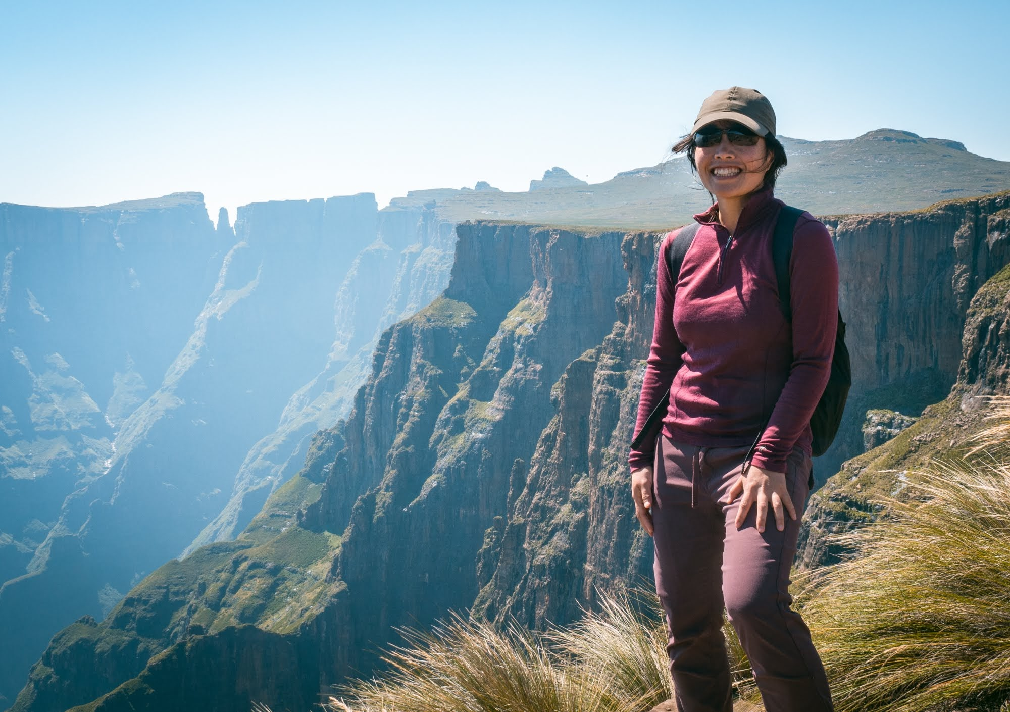 Me near the top of Tugela Falls, South Africa