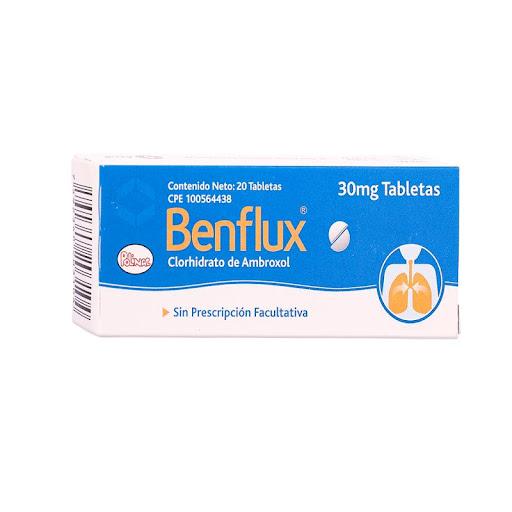 Ambroxol Benflux 30Mg X 20 Tabletas Polinac