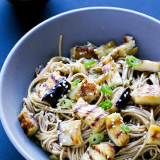 Grilled Eggplant Soba Noodles