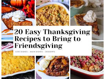 20 Easy Thanksgiving Recipes to Bring to Friendsgiving