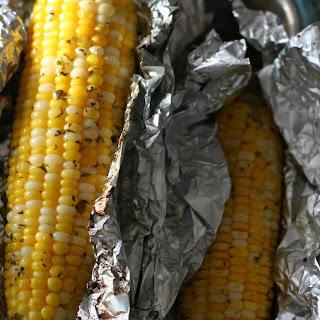 Grilled Cilantro Corn.