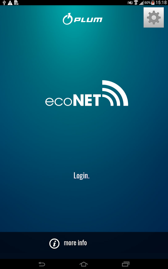 ecoNET- screenshot