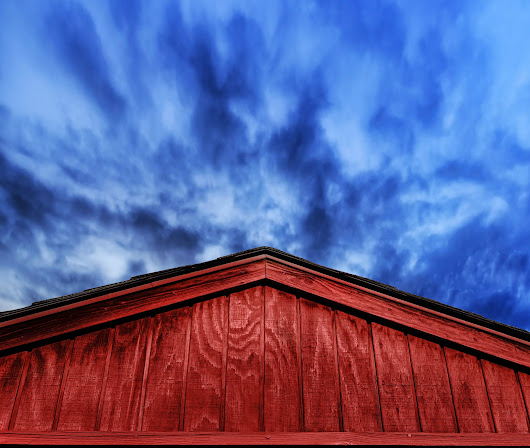 Red Barn with Stormy Skies | Architectural Detail | Buildings & Architecture | Pixoto