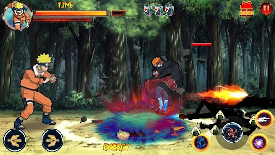 Ninja shinobi Ultimate battle Storm Hack Mod Apk