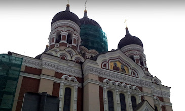 Photo: RUSSIAN ORTHODOX CATHEDRAL     http://en.wikipedia.org/wiki/Alexander_Nevsky_Cathedral,_Tallinn