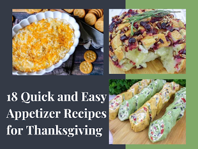 18 Quick and Easy Appetizer Recipes for Thanksgiving