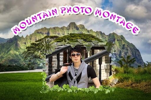 Mountain Photo Montage
