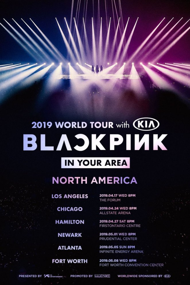 blackpink us world tour 2019