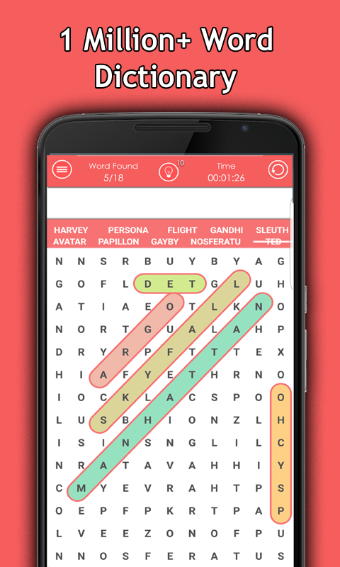 Word Search Puzzle 2017- screenshot