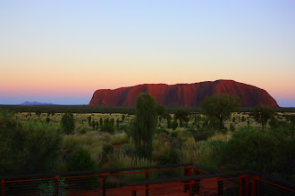 Photo: Year 2 Day 219 - Uluru (The Olgas on the Left)