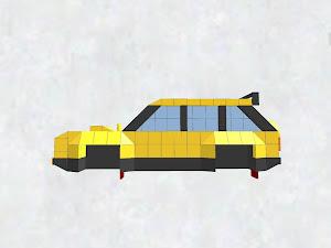 ステーションワゴン(タイヤなし)