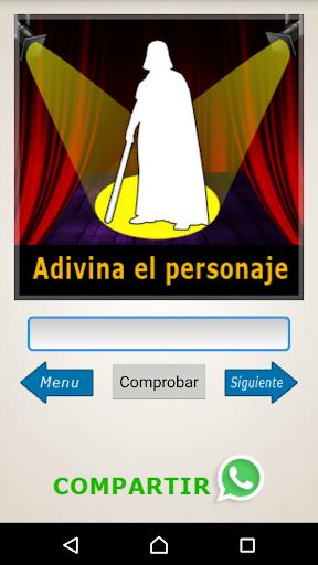 Adivina el Personaje - Siluetas, Emojis, Acertijos screenshot 13
